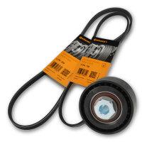 CONTI Keilrippenriemen 4PK925 / 3PK750 + Rolle XL-b
