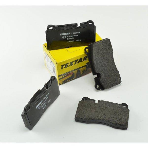 Bremsbelagsatz, Scheibenbremse - TEXTAR